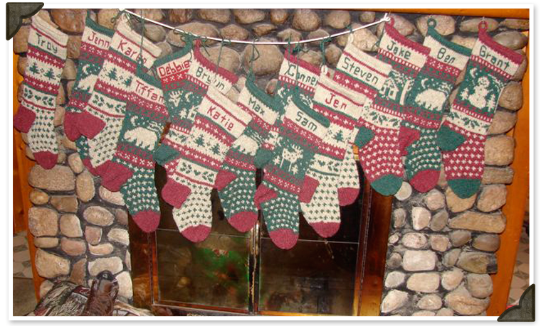 Jenny's Christmas Stockings