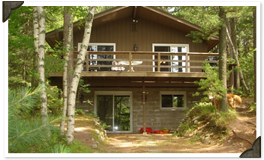 Red Pine 4-Bedroom Lodge Minocqua, WI